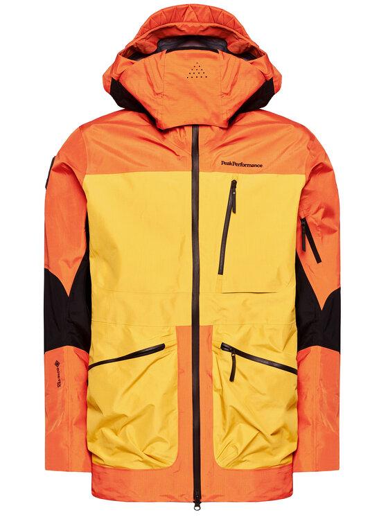 Peak Performance Peak Performance Outdoorová bunda Vertical Pro Ski G68287005 Oranžová Regular Fit