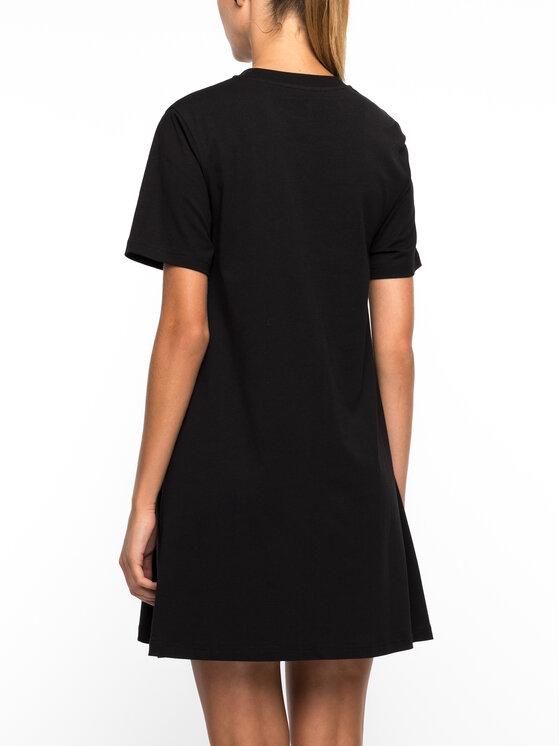 MCQ Alexander McQueen MCQ Alexander McQueen Kleid für den Alltag 401641 RNT58 1010 Schwarz Regular Fit