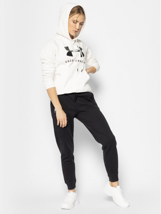 Under Armour Under Armour Долнище анцуг Ua Rival Fleece Sportstyle Graphic 1348549 Черен Loose Fit