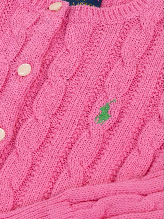 Polo Ralph Lauren Polo Ralph Lauren Kardigán Spring I 312737911 Ružová Regular Fit