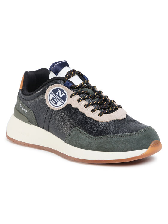 North Sails Laisvalaikio batai RW/02 Leather -020 Juoda
