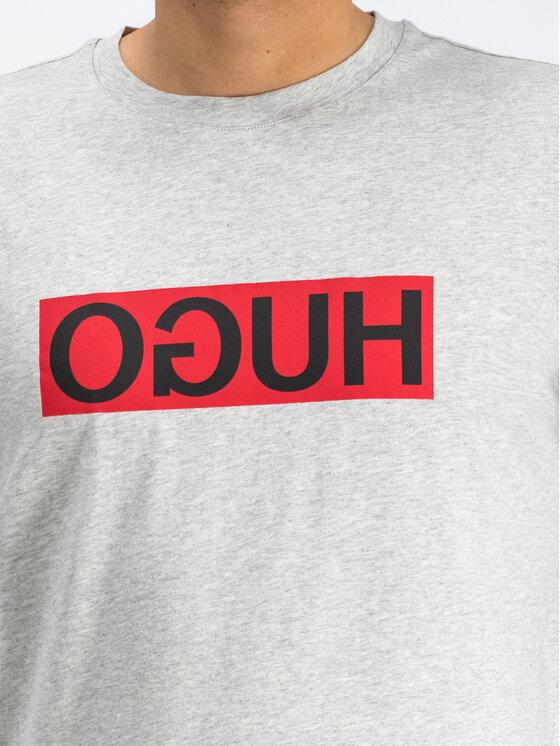 Hugo Hugo T-Shirt 50417216 Grau Regular Fit