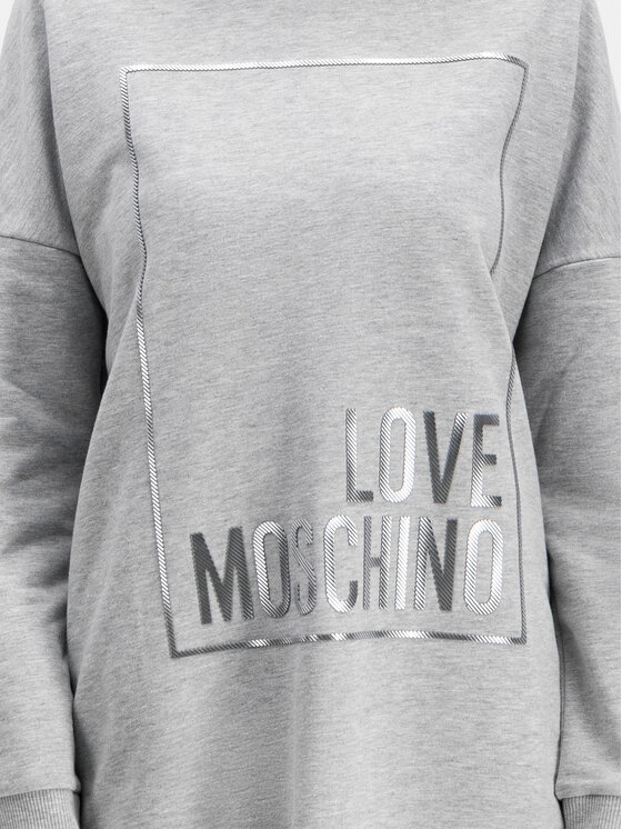 LOVE MOSCHINO LOVE MOSCHINO Úpletové šaty W5A4802M 4068 Regular Fit