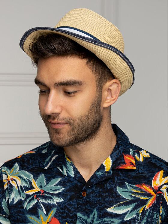 Tommy Hilfiger Tommy Hilfiger Καπέλο Straw Hat AM0AM04502 Μπεζ