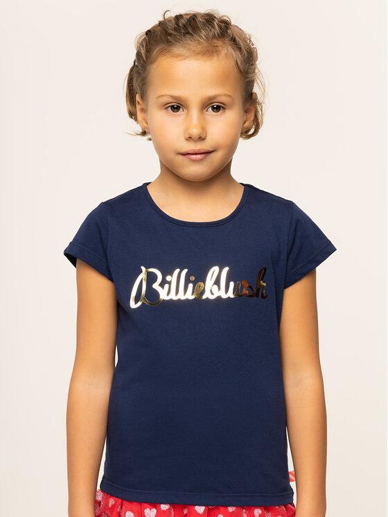 Billieblush Marškinėliai U15P02 Tamsiai mėlyna Regular Fit