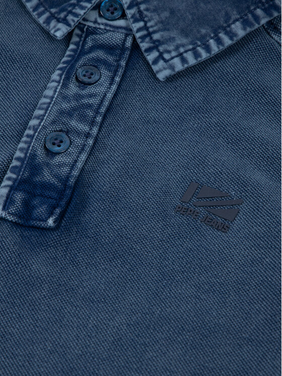 Pepe Jeans Pepe Jeans Polo Philippe PB540571 Σκούρο μπλε Regular Fit