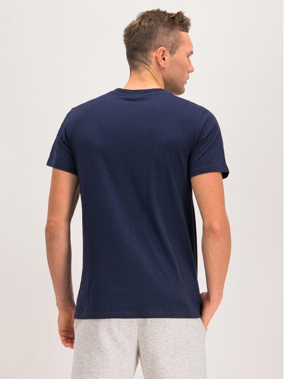Fila Fila T-Shirt Seamus 682393 Granatowy Regular Fit
