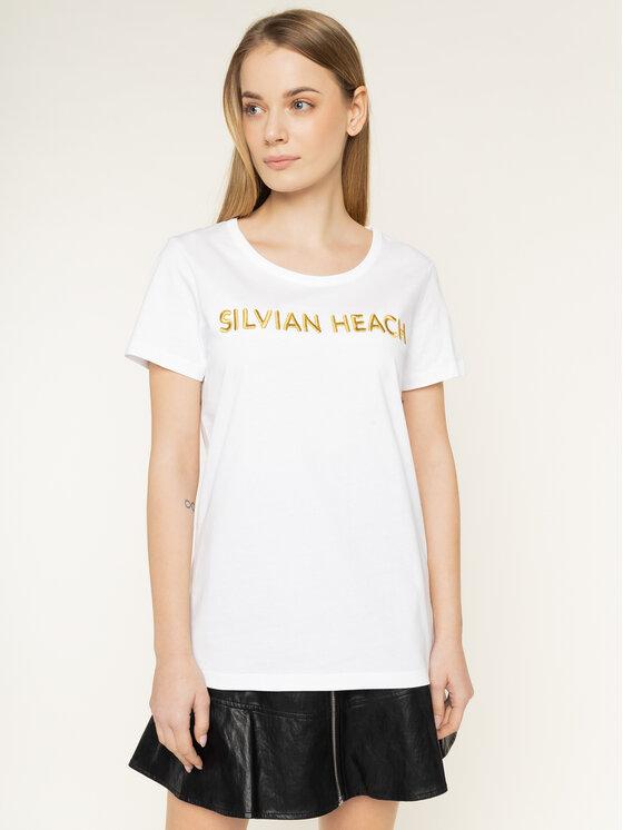 Silvian Heach T-Shirt Sivingo PGP20675TS Biały Regular Fit