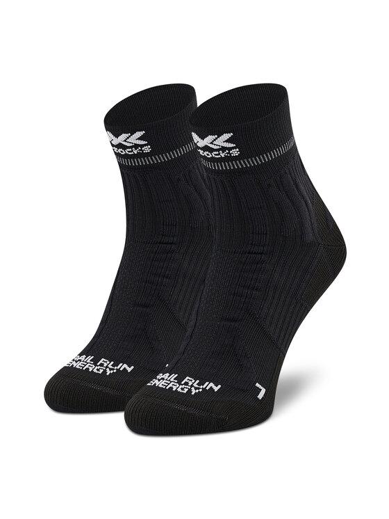 X-Socks Ilgos Vyriškos Kojinės Trail Run Energy XSRS13S19U Juoda