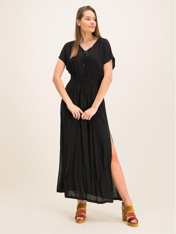 Chantelle Chantelle Φόρεμα παραλίας Escape C15E10 Μαύρο Regular Fit