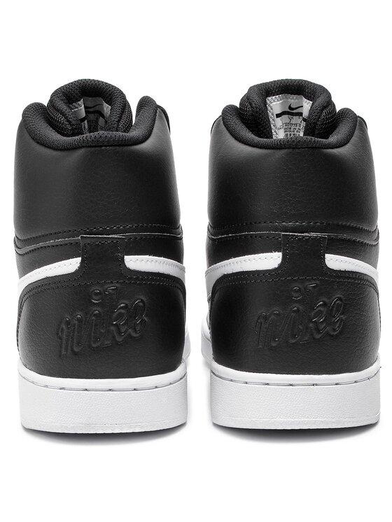 Nike Nike Обувки Ebernon Mid AQ1773 002 Черен
