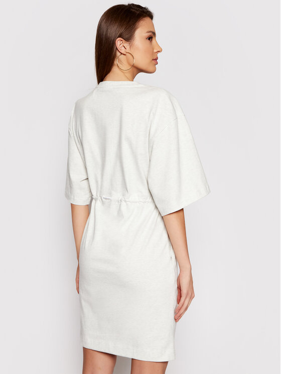 New Balance New Balance Sukienka dzianinowa Ath NBWD11501 Szary Regular Fit