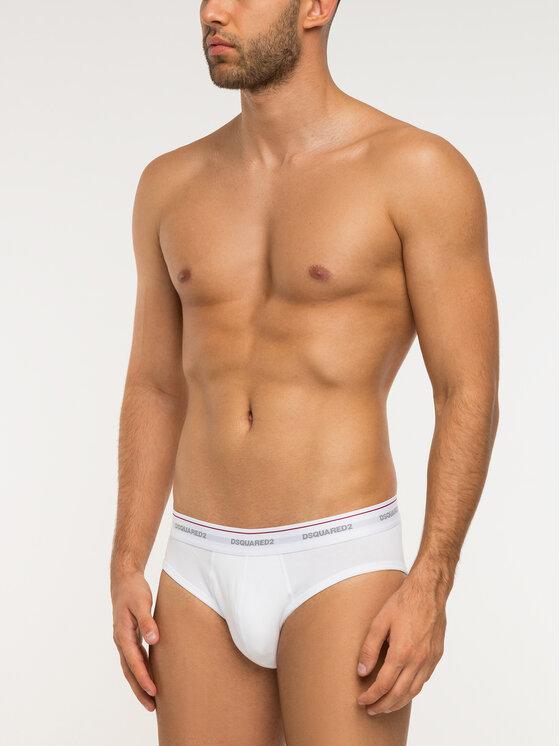Dsquared2 Underwear Komplektas: 3 trumpikių poros DCX610040 Smėlio