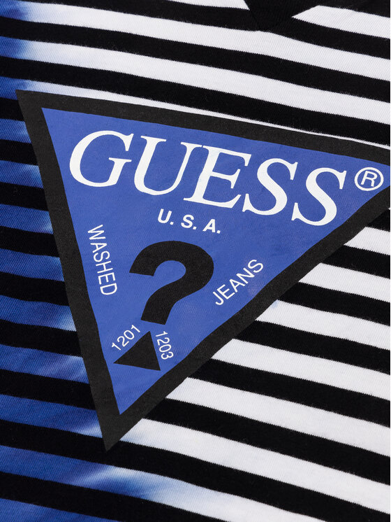 Guess Guess T-Shirt N94I25 K8580 Kolorowy Regular Fit