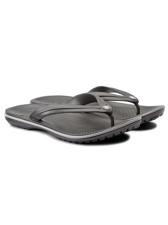 Crocs Crocs Zehentrenner Crocband Flip 11033 Grau