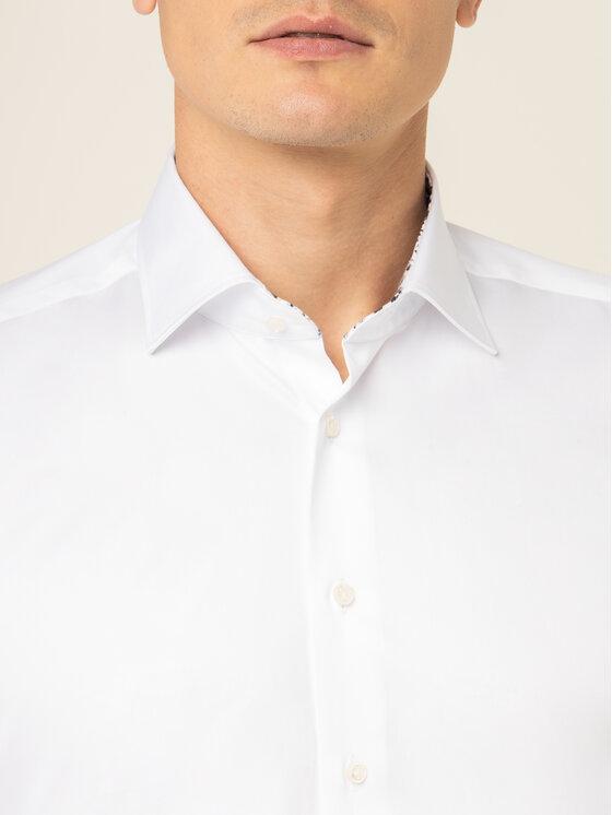 Emanuel Berg Emanuel Berg Camicia Mr.Crown PEB46194 Bianco Slim Fit