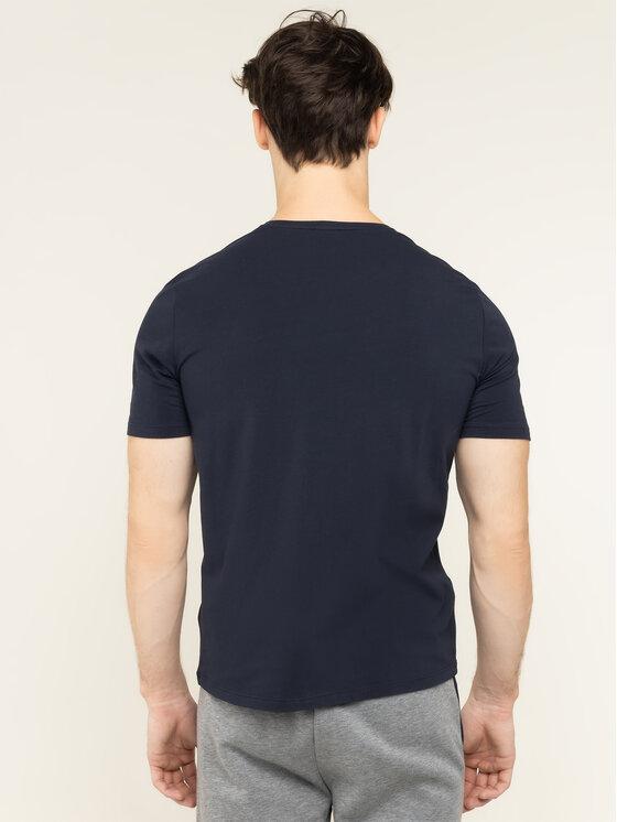 Boss Boss T-shirt Identity 50420159 Blu scuro Regular Fit