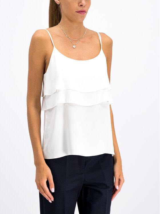Pennyblack Pennyblack Блуза Famoso 11610119 Бял Regular Fit