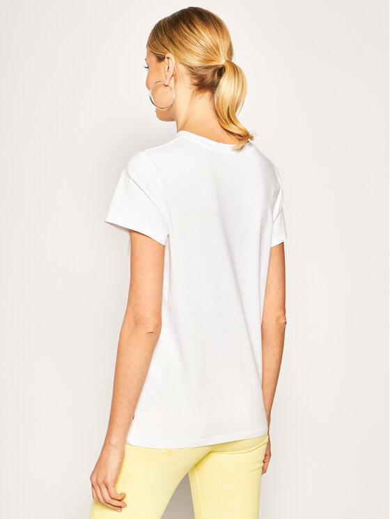 Levi's® Levi's® T-Shirt Donna 17369-0914 Biały Regular Fit
