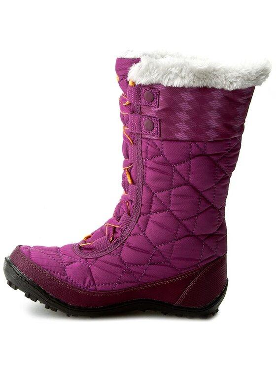 Columbia Columbia Cizme de zăpadă Youth Minx Mid II Waterproof Omni-Heat BY1336 Violet