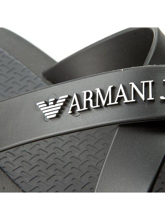 Armani Jeans Armani Jeans Klapki 935598 CC569 00020 Czarny