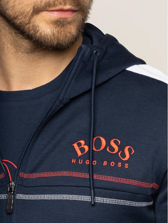 Boss Boss Mikina Saggy 50421591 Tmavomodrá Regular Fit