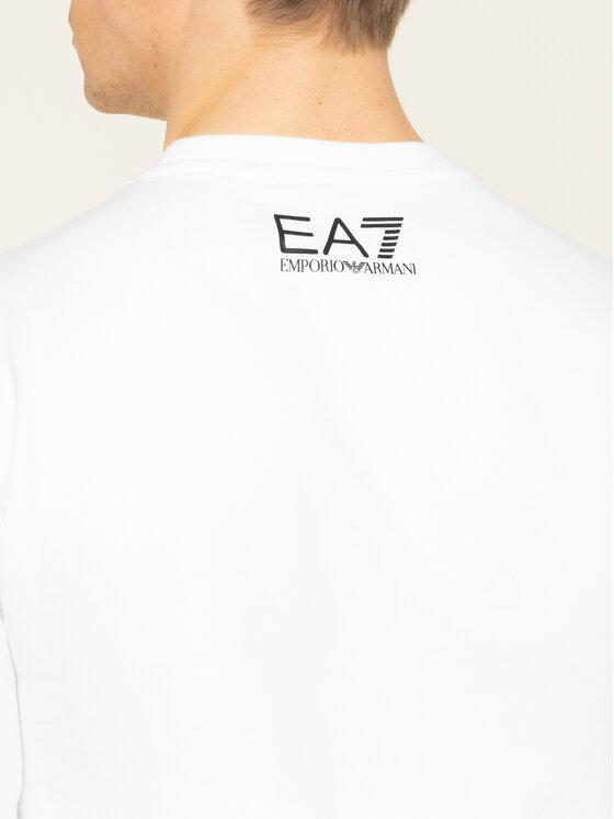 EA7 Emporio Armani EA7 Emporio Armani Bluză 3HPM27 PJ05Z 1100 Alb Regular Fit