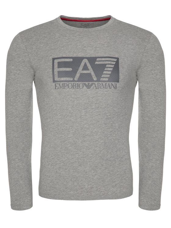 EA7 Emporio Armani EA7 Emporio Armani S dlhými rukávmi 3GPT64 PJ03Z 3905 Sivá Regular Fit