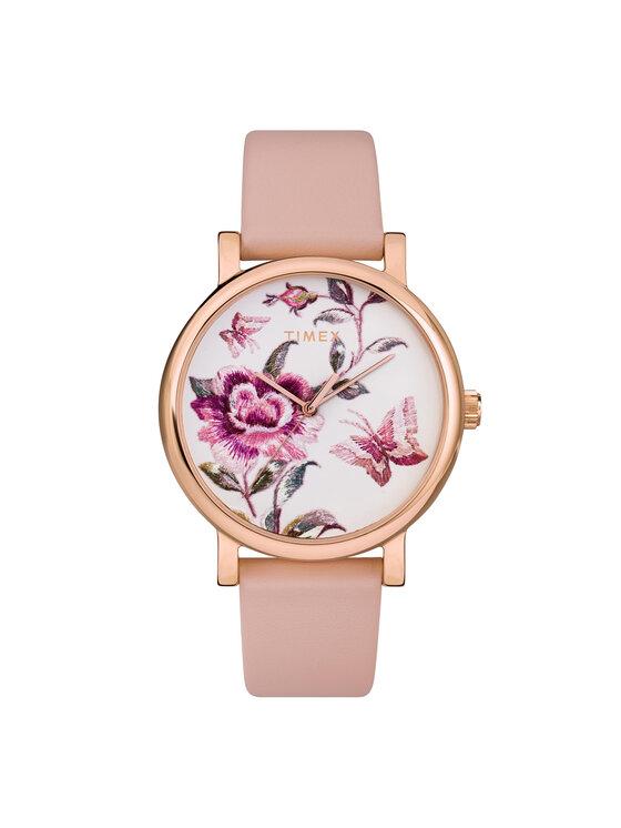 Timex Laikrodis Full Bloom TW2U19300 Rožinė