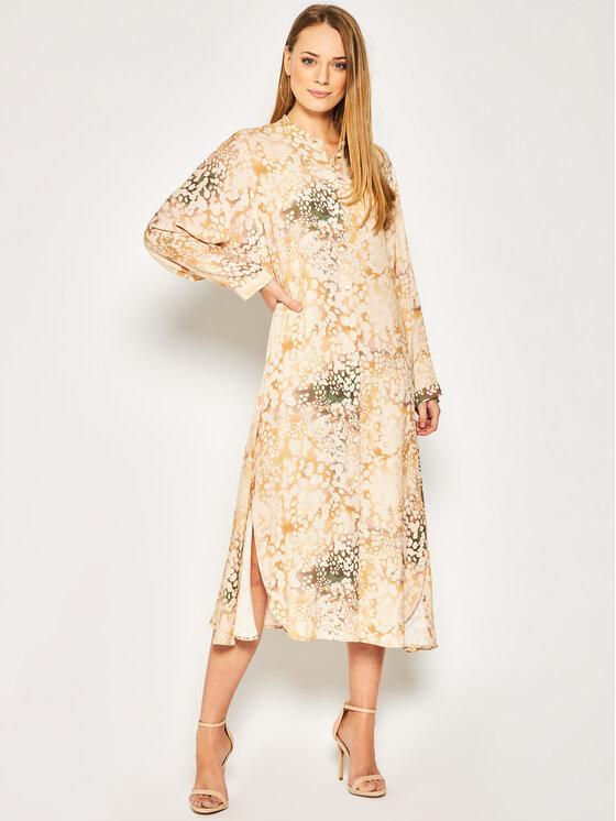 MAX&Co. Kasdieninė suknelė Causa 72210920 Smėlio Regular Fit