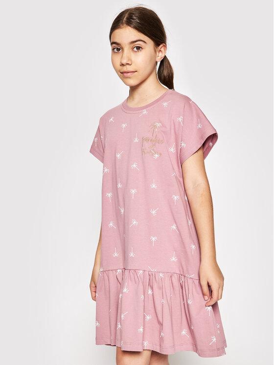 Femi Stories Kasdieninė suknelė Sonya Rožinė Regular Fit