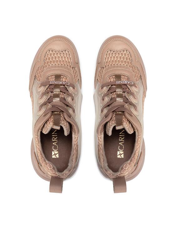 Carinii Carinii Sneakersy B7606 Beżowy