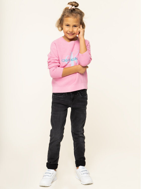 Calvin Klein Jeans Calvin Klein Jeans Pulover IG0IG00207 Roz Regular Fit