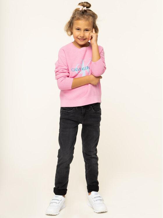 Calvin Klein Jeans Calvin Klein Jeans Sweter IG0IG00207 Różowy Regular Fit