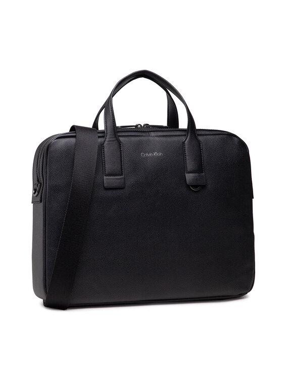 Calvin Klein Calvin Klein Torba na laptopa Warmth Laptop Bag K50K507246 Czarny