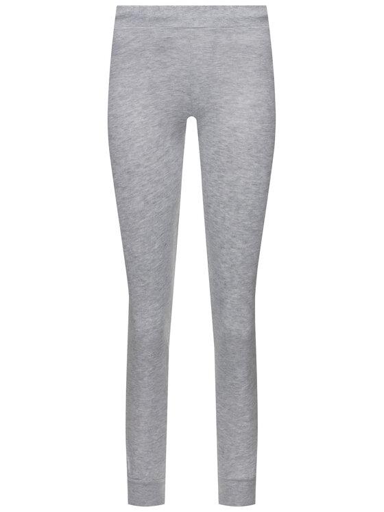 Guess Guess Spodnie dresowe O94A27 FL01I Szary Regular Fit