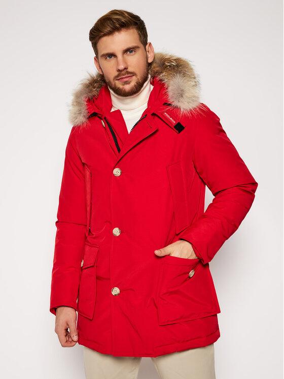 Woolrich Striukė Arctic CFWOOU0270MR UT0108 Raudona Regular Fit