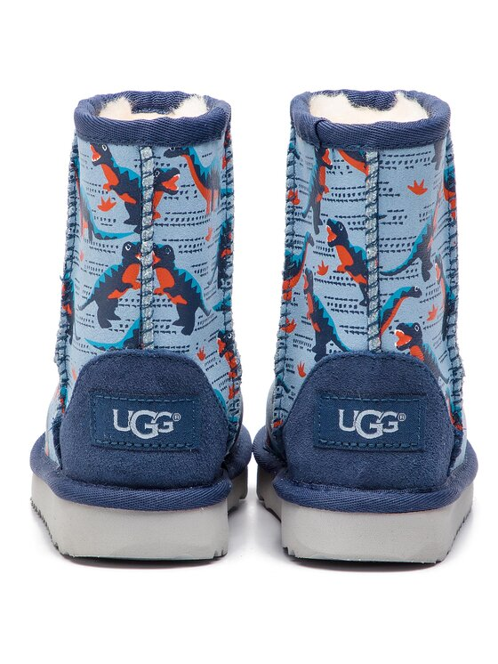 Ugg Ugg Обувки T Classic Short II Desert Dino 1101487T Тъмносин