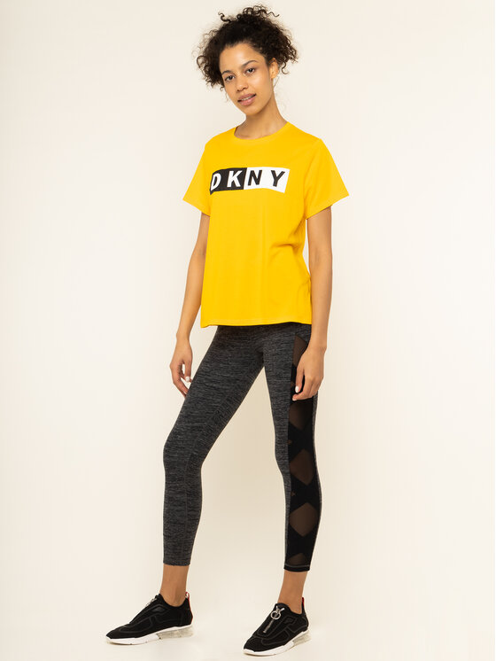 DKNY Sport DKNY Sport Leggings DP8P1976 Gris Slim Fit