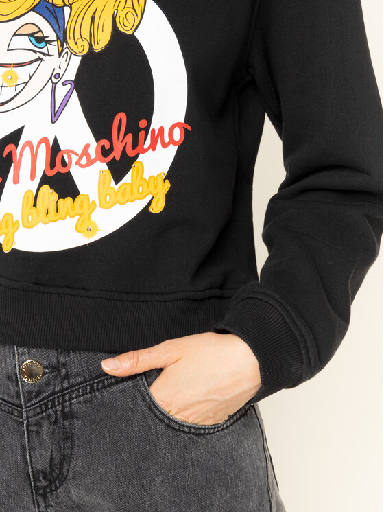 LOVE MOSCHINO LOVE MOSCHINO Sweatshirt W630629M 4068 Regular Fit