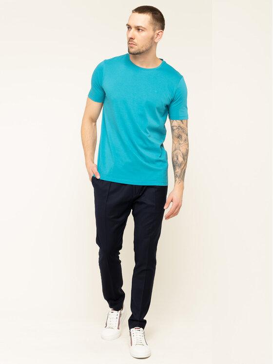 Hugo Hugo T-Shirt Dero 201 50422655 Niebieski Regular Fit