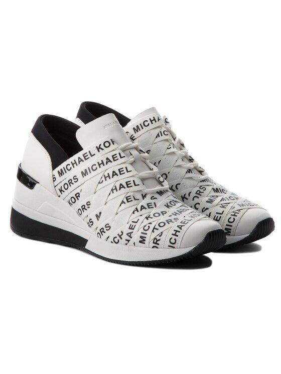 MICHAEL Michael Kors MICHAEL Michael Kors Laisvalaikio batai Cydney Trainer 43T8CYFS1D Balta