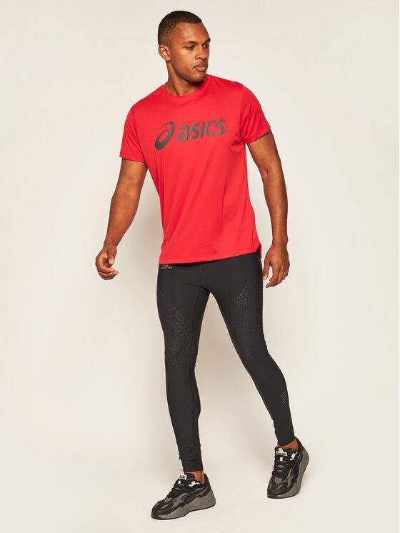 Asics Asics Funkční tričko Silver 2011A474 Červená Regular Fit