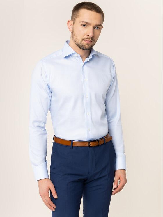 Eton Marškiniai 100000084 Mėlyna Slim Fit