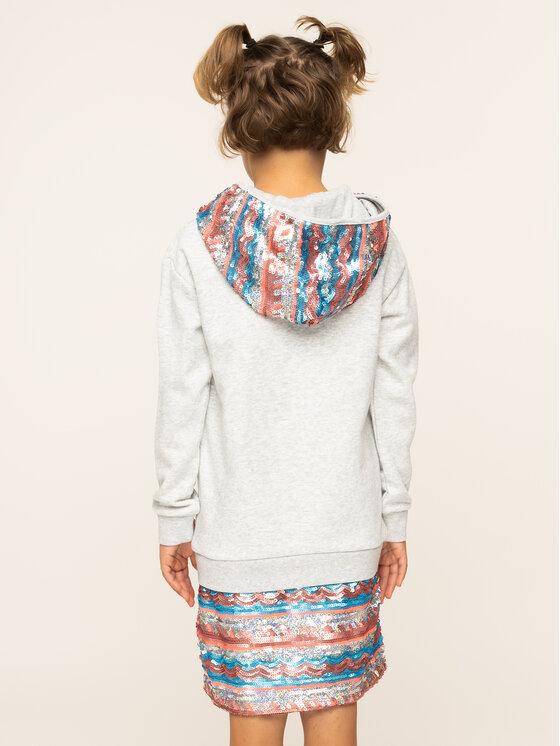 Billieblush Billieblush Každodenné šaty U12516 Sivá Regular Fit