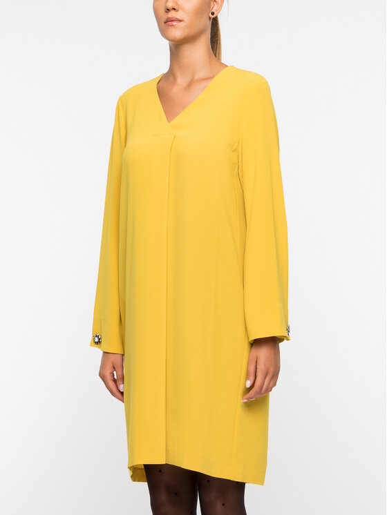 Laurèl Laurèl Hétköznapi ruha 12022 Sárga Regular Fit
