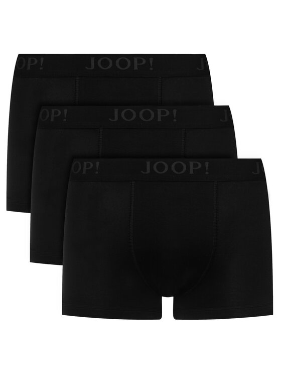JOOP! JOOP! Σετ 3 ζευγάρια μποξεράκια 30004999 Μαύρο