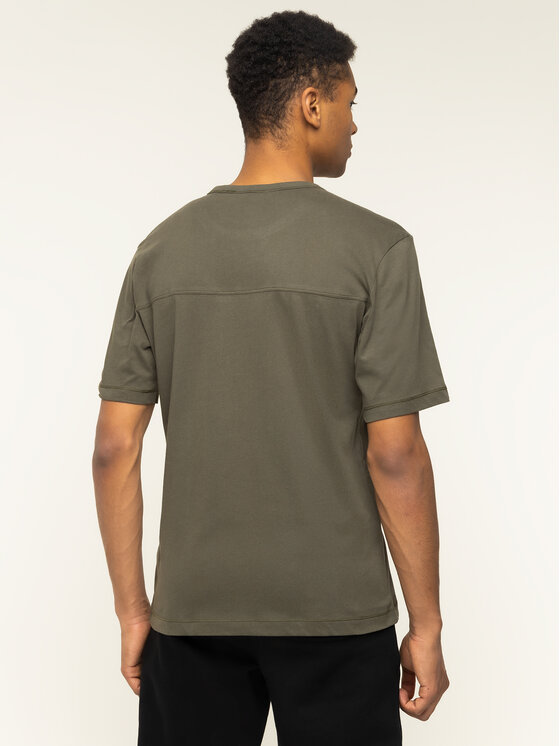 Calvin Klein Jeans Calvin Klein Jeans T-Shirt Monogram Logo J30J314051 Grün Regular Fit