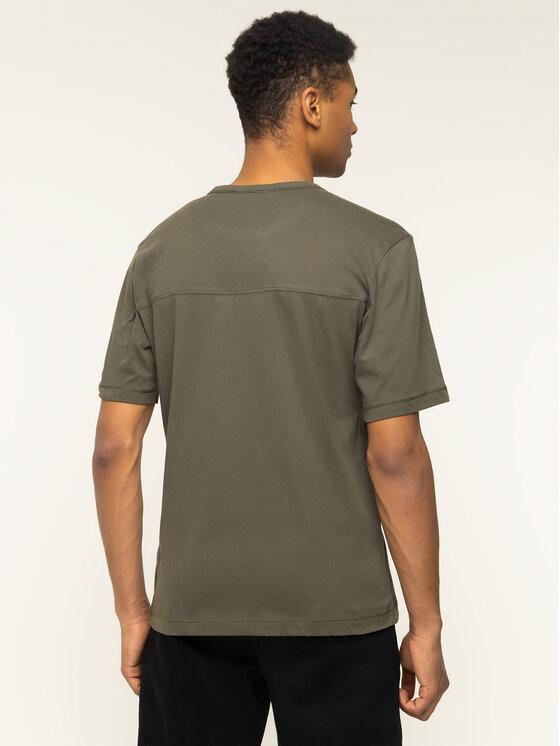 Calvin Klein Jeans Calvin Klein Jeans T-Shirt Monogram Logo J30J314051 Zielony Regular Fit
