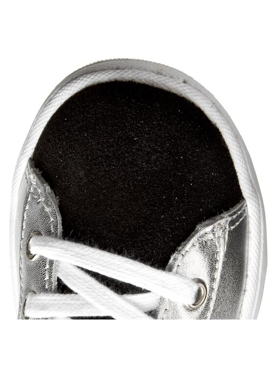 Guess Guess Sneakers Geremia FIGER2 LEA12 Argento